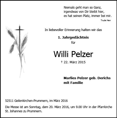 Willi Pelzer
