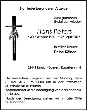 Hans Peters