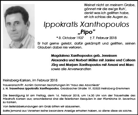 Ippokratis Xanthopoulos