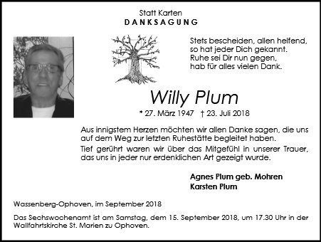 Willy Plum