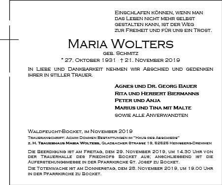 Maria Wolters