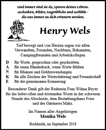 Henry Wels