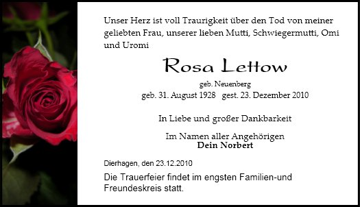 Rosa Lettow