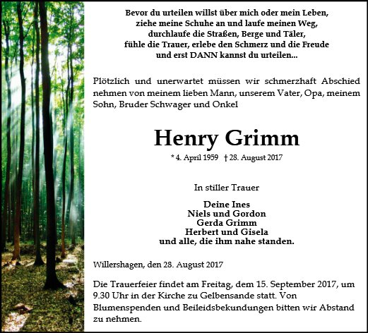 Henry Grimm