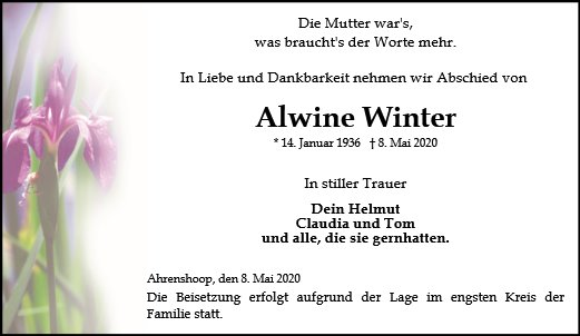 Alwine Winter