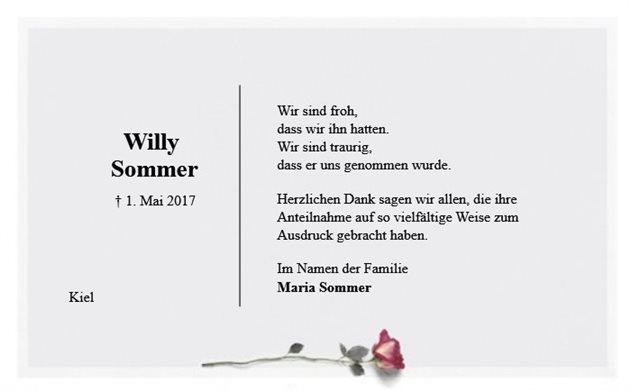 Willy Sommer