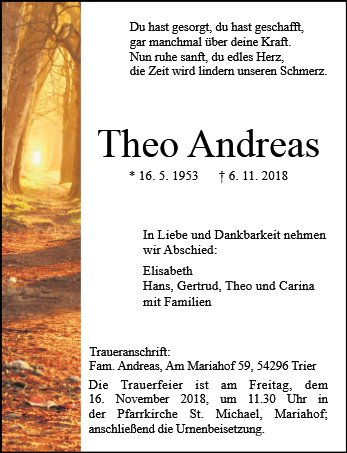 Theo Andreas