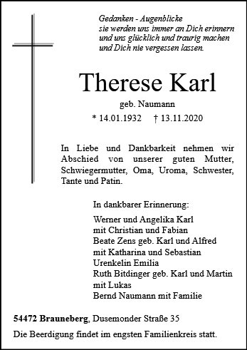 Therese Karl