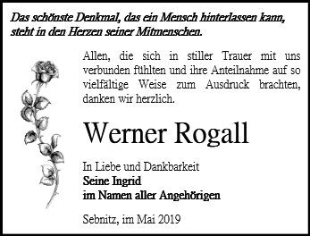 Werner Rogall