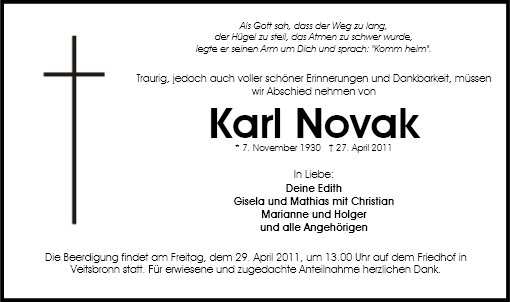 Karl Novak
