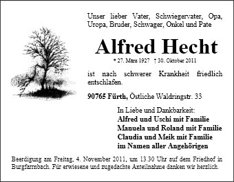 Alfred Hecht