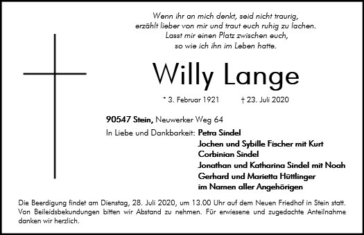 Willy Lange