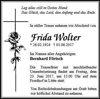 Frida Wolter