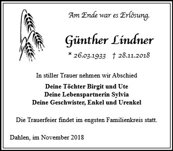 Günther Lindner