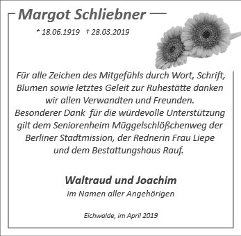 Margot Schliebner