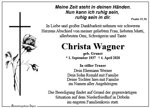 Christa Wagner