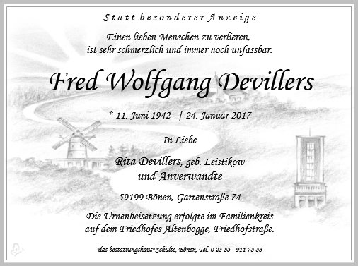 Fred Wolfgang Devillers
