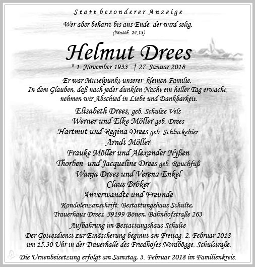 Helmut Drees