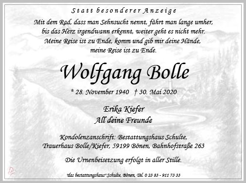 Wolfgang Bolle