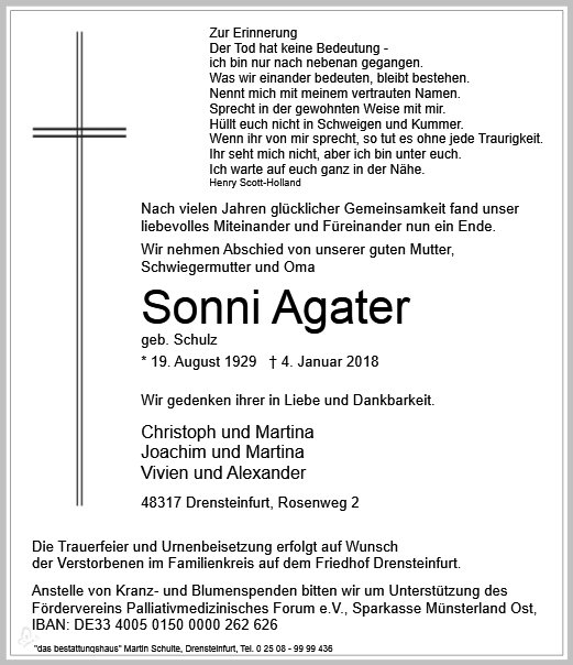 Sonni Agater