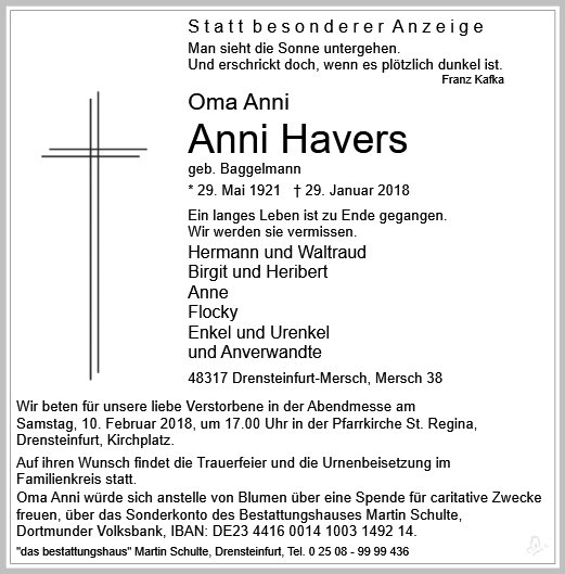 Anni Havers