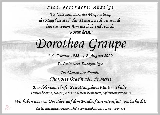 Dorothea Graupe