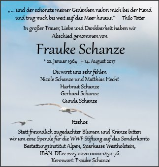 Frauke Schanze