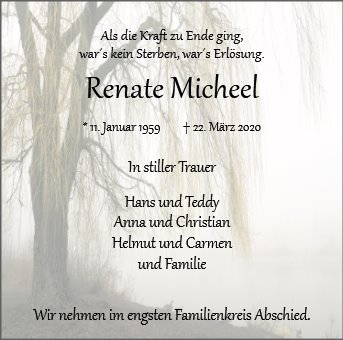 Renate Micheel