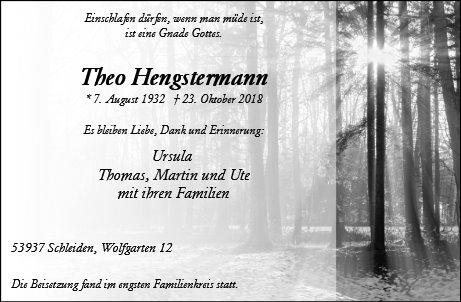 Theo Hengstermann
