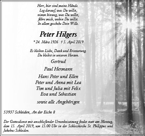 Peter Hilgers