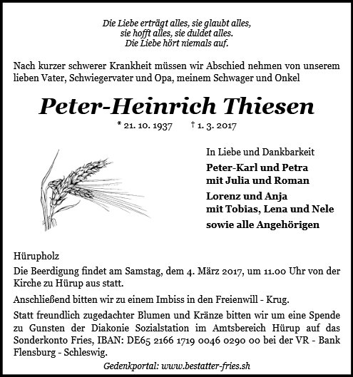 Peter Thiesen