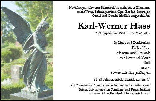 Karl-Werner Hass