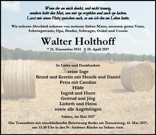 Walter Holthoff
