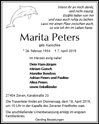 Marita Peters