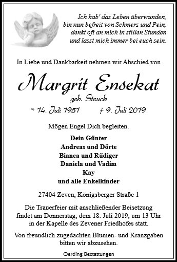 Margrit Ensekat