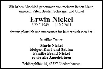 Erwin Nickel