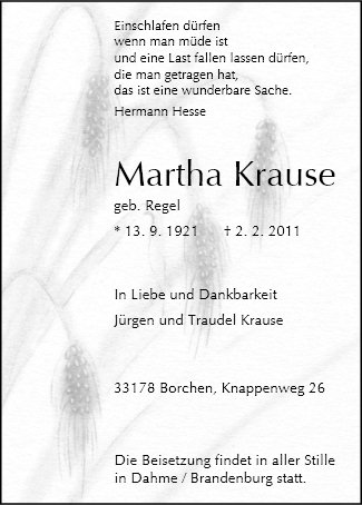 Martha Krause