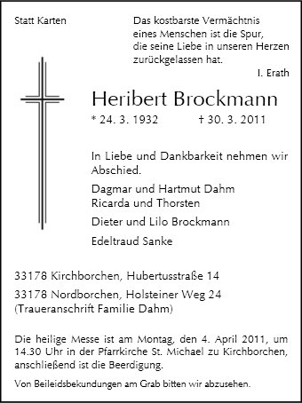 Heribert Brockmann