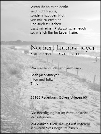 Norbert Jacobsmeyer