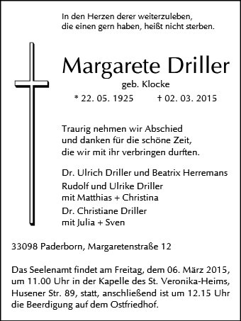 Margarete Driller