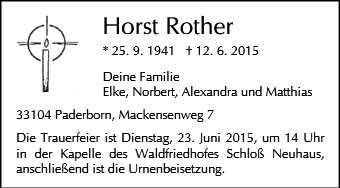Horst Rother
