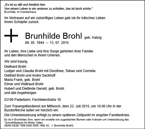 Brunhilde Brohl