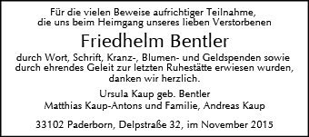 Friedhelm Bentler