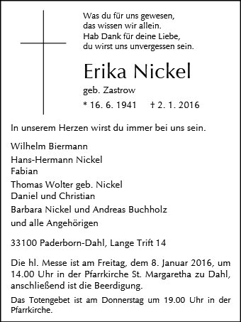 Erika Nickel