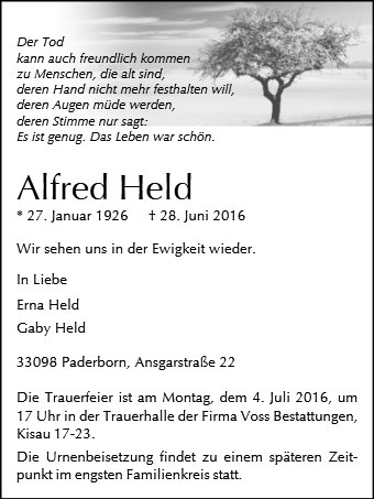 Alfred Held
