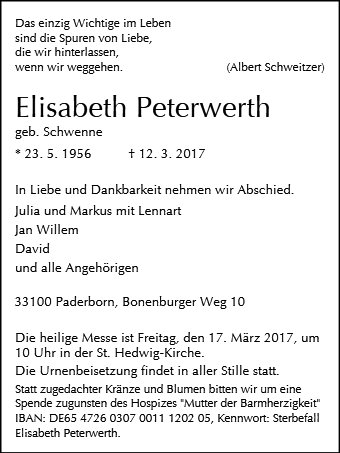 Elisabeth Peterwerth