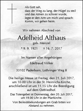 Adelheid Althaus