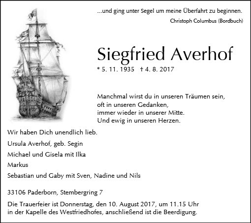 Siegfried Averhof