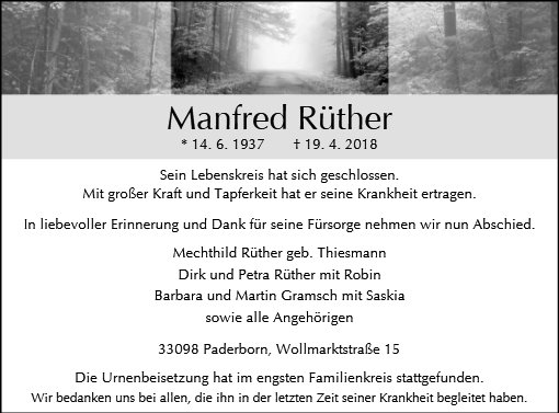 Manfred Rüther