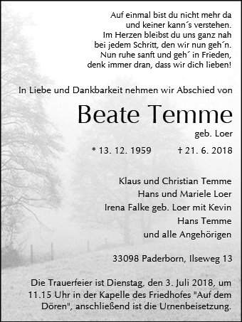 Beate Temme